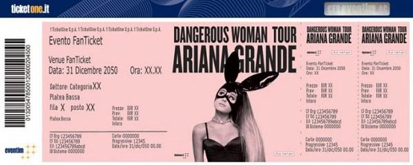 Ariana Grande Calendario.Ariana Grande Concerti Roma E Torino 2017 Prezzo Biglietti