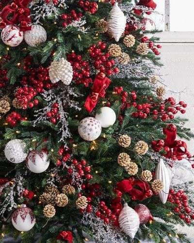 Albero Di Natale Rosso.Come Fare L Albero Di Natale 2017 Ecco Le Nuove E Originali Tendenze Ultimora News