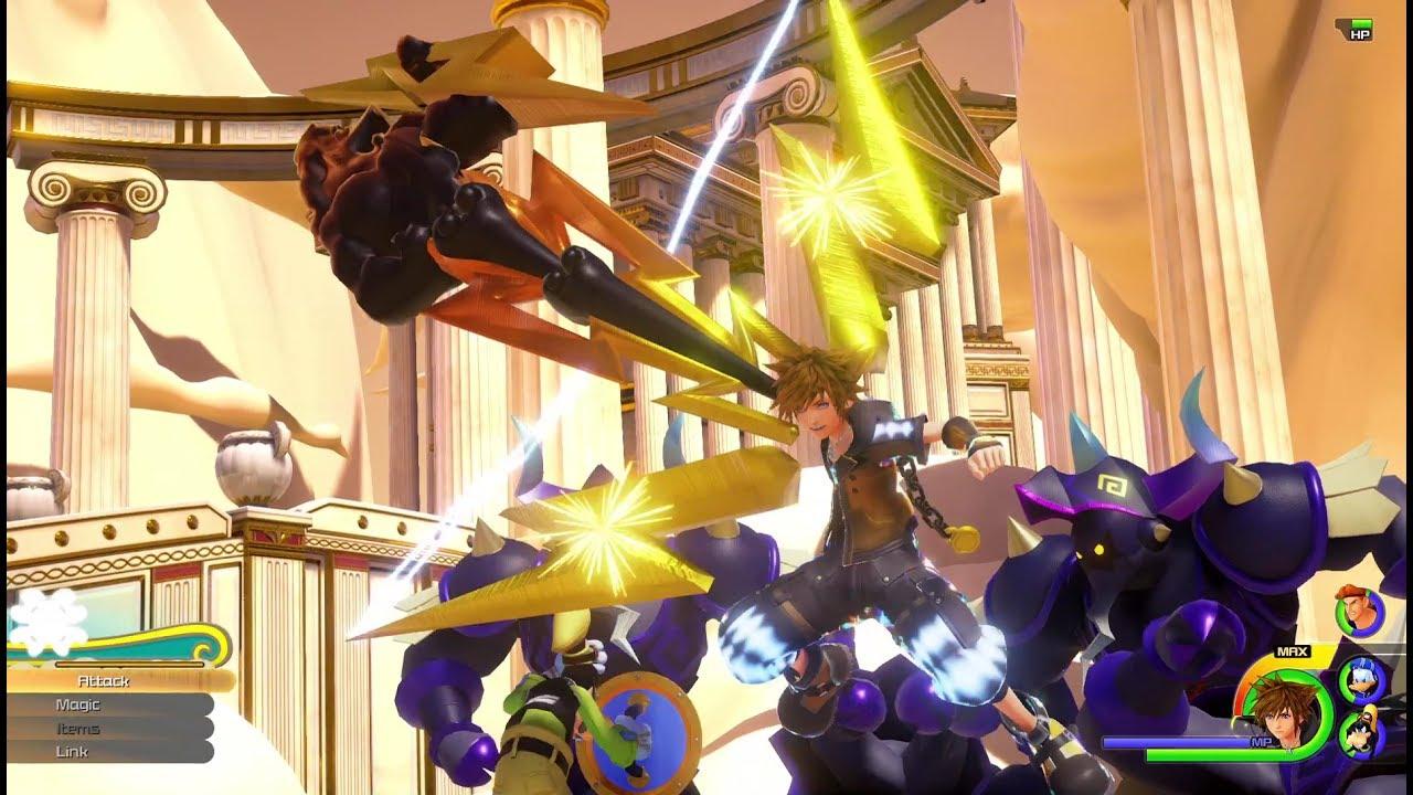 Kingdom Hearts III: presenti meno mondi del secondo episodio, ma più vasti