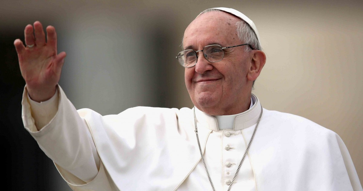 Papa Francesco al Cimitero di Nettuno: