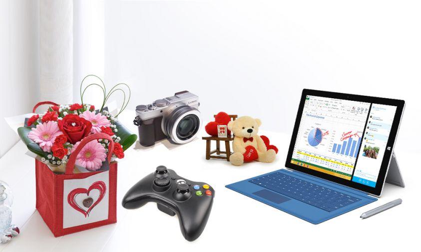 San valentino i 5 regali migliori per lei e per lui for Regali tecnologici per lui