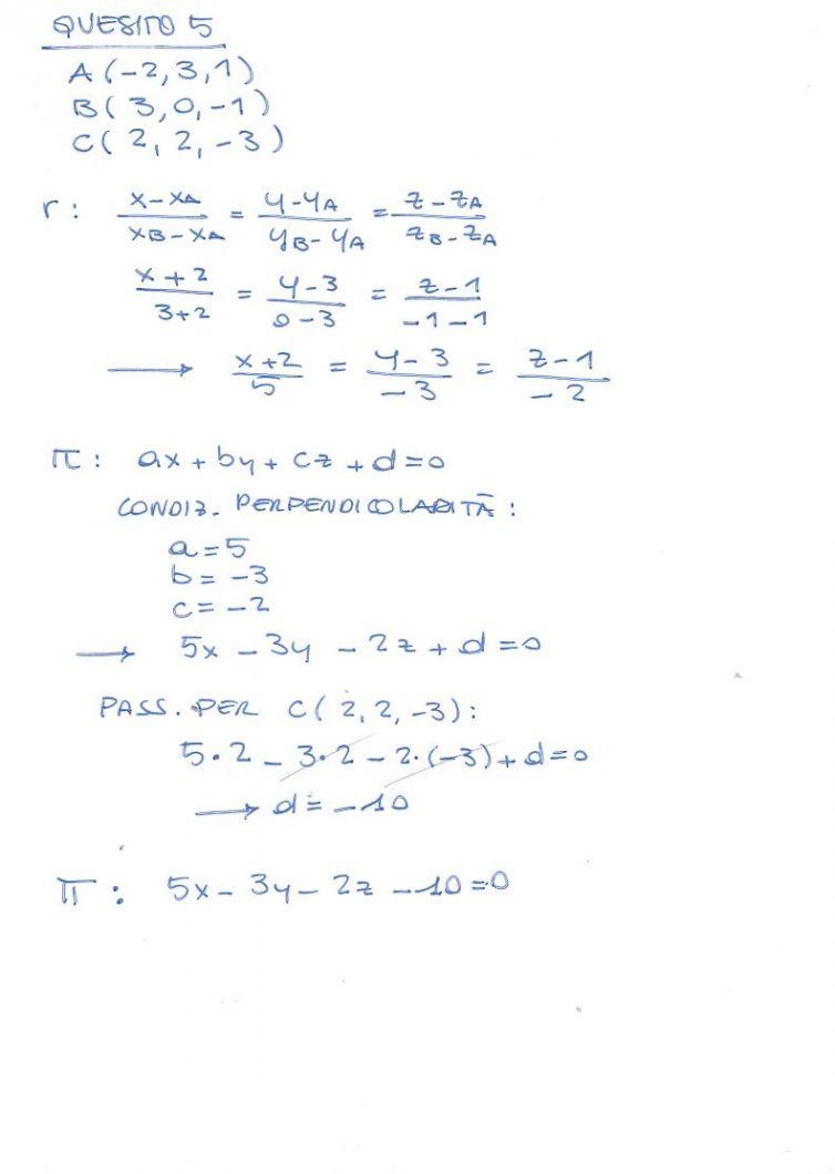 Soluzioni Seconda Prova Matematica 2017 Quesiti E Problema 1 E 2