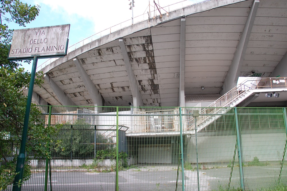 Roma, trovato cadavere di un uomo nello stadio Flaminio