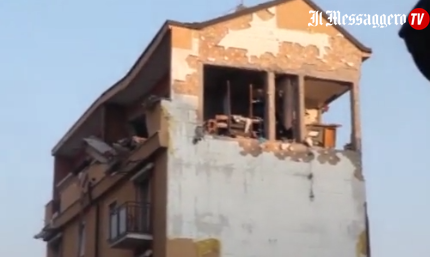 Esplosione nel Milanese, sei feriti