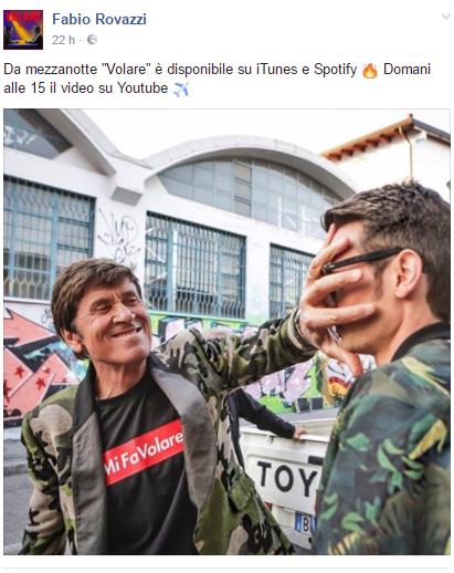 Fabio Rovazzi e Gianni Morandi insieme, pronti per farci