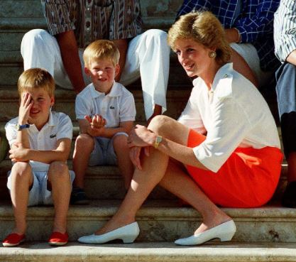 Lady Diana, William e Harry raccontano la loro mamma